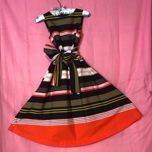 Colorful Stripes Dress from Ann Taylor